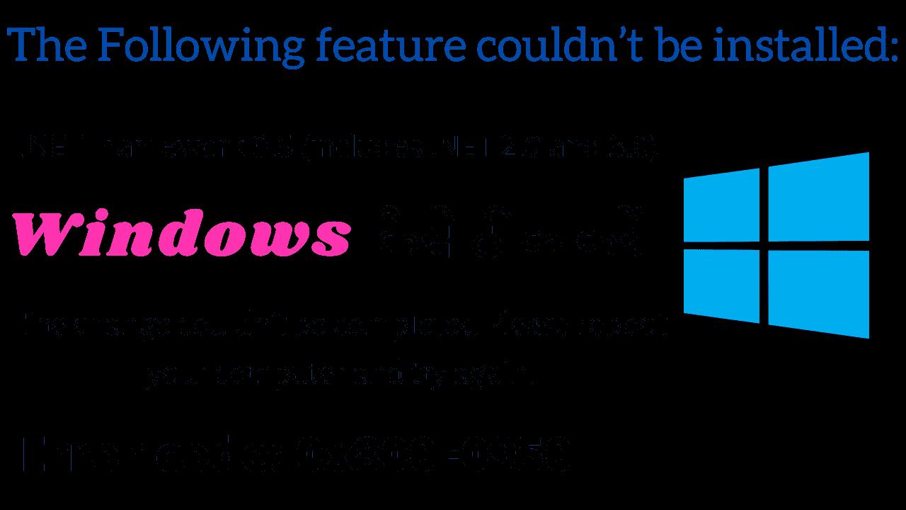 how to fix Error code 0x800F0950